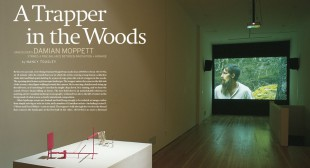 Damian Moppett: A Trapper in the Woods