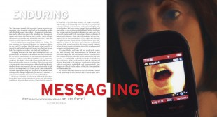 Enduring Messaging: Are Microcommunications an Art Form?