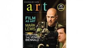 On Newsstands & Online Now: Canadian Art Summer 2009