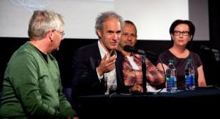 Micah Lexier, Alain Paiement & Laurel Woodcock at the 2012 Gallery Hop Toronto Panel