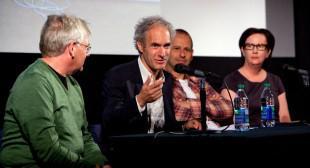 Micah Lexier, Alain Paiement & Laurel Woodcock at the 2012 Gallery Hop Toronto Panel
