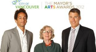 Samuel Roy-Bois, Jerry Pethick among honourees at Mayor's Arts Awards in Vancouver
