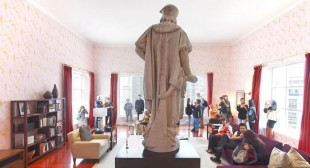 Discovering Columbus Puts Public-Art Icon in New York Living Room