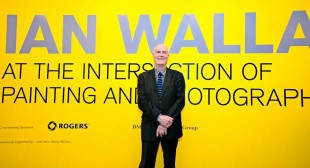 Ian Wallace Talks Series Launches at the VAG