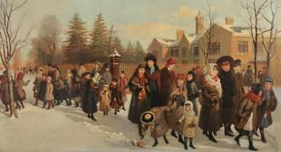 Frederic Marlett Bell-Smith: The Return from School