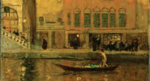 James Wilson Morrice: Venice at the Golden Hour