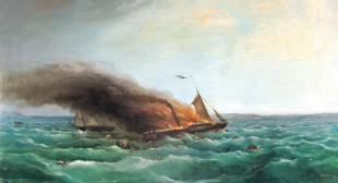 Fire at Sea: Charles Codman's The Burning of the Royal Tar