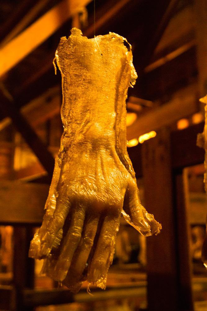 This Hand Was Cast From Opa Stickl, Founder Of The Tobacco Farm Where The  Kiln Was Built. Benning Also ...