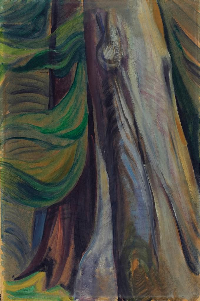 Emily Carr S First Painting