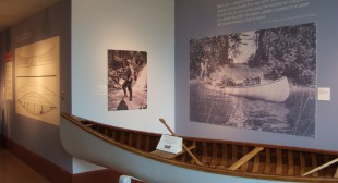 Tom Thomson and the Grey Canoe