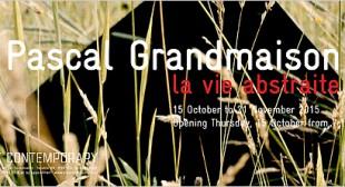 Pascal Grandmaison: La vie abstraite