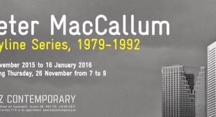 Peter MacCallum: Skyline Series, 1979-1992