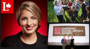 News in Brief: Mélanie Joly on Cabinet, Vancouver Mayor's Art Awards Announced, Thaddeus Holownia Recognized