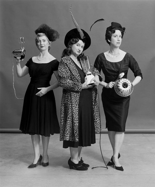 CSawyer Ensemble Trois Femmes Mecaniques ( ETFM), promotional photograph, c. 1958 copy copy