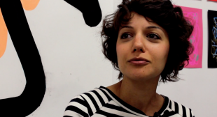 Video: Jaime Angelopoulos in her Studio