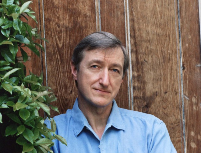 Author and critic Julian Barnes, who will be speaking in Toronto May 31. Photo: Ellen Warner.