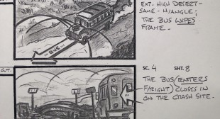 X-Files Storyboards and Props on Exhibit in Vancouver
