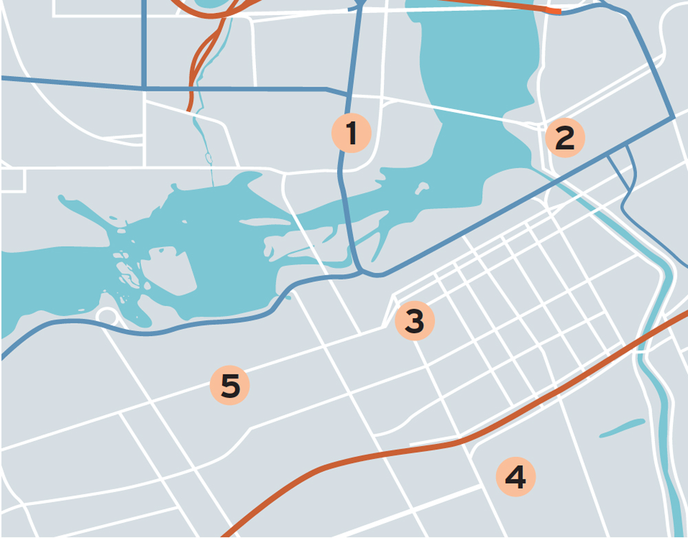 Ottawa neighbourhood map