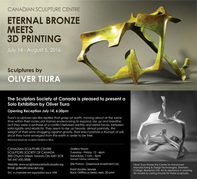 ETERNAL BRONZE MEETS 3D PRINTING