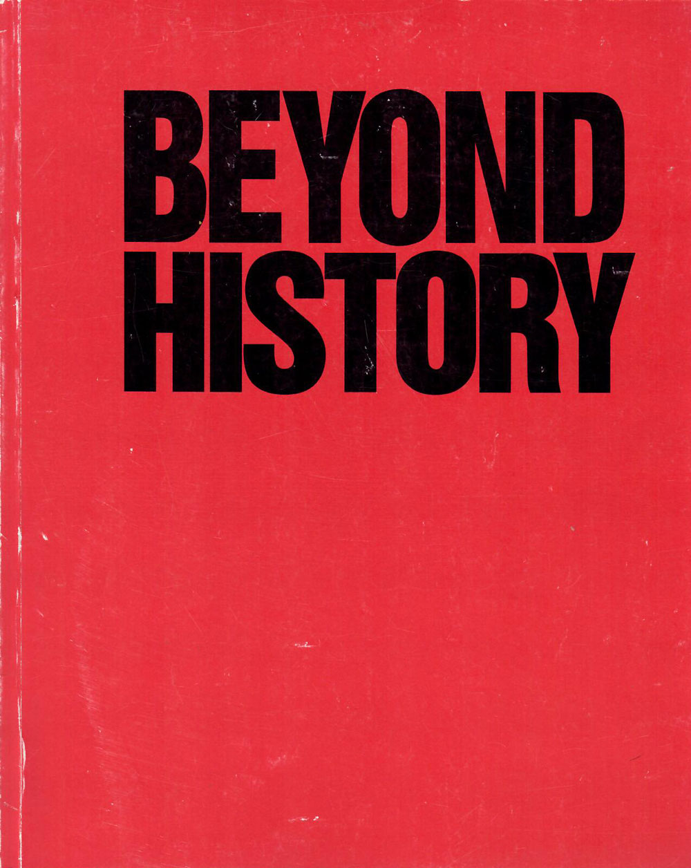 Beyond History catalogue cover