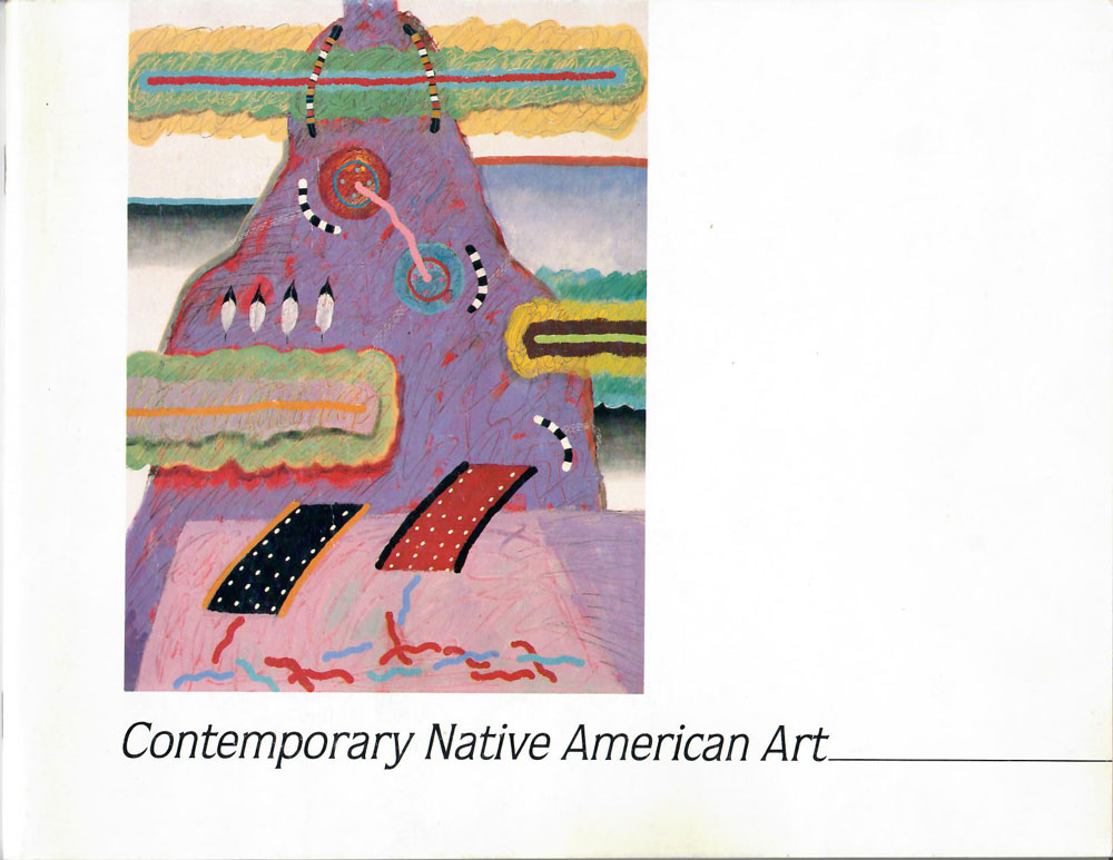 Contemporary Native American Art catalogue