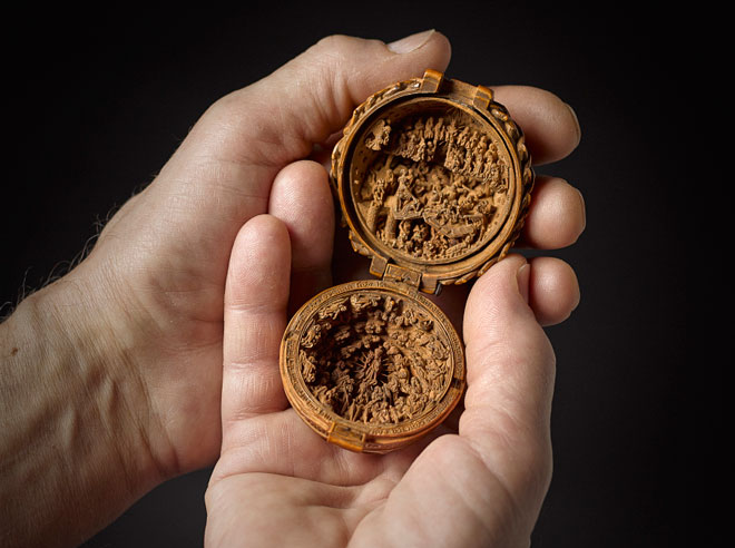 Little but luxe remarkable boxwood carvings