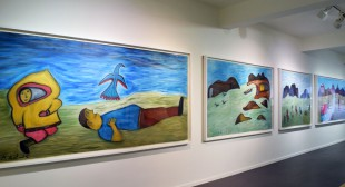 91-Year-Old Inuit Artist Addresses Youth Suicide in Large Drawing
