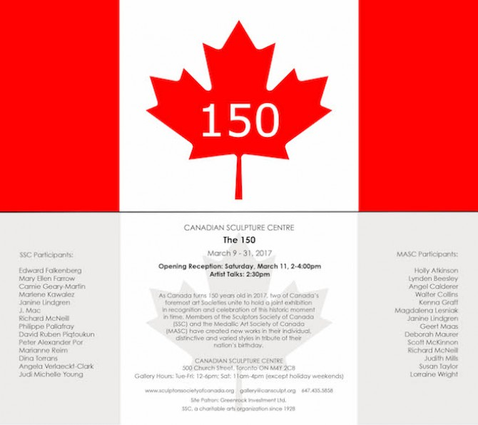 THE 150 (Canadian Celebration Exhibition)
