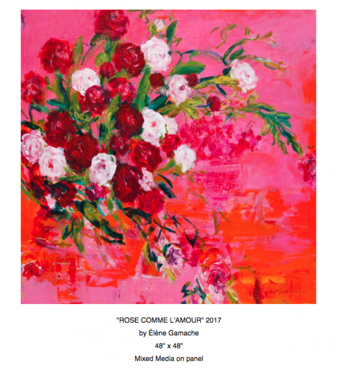 ÉLÈNE GAMACHE MY FLORAL WORLD