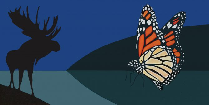 Charles Pachter: Of Moose and Monarchs