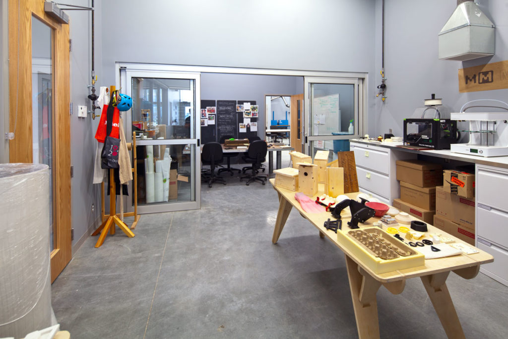 A New 3D Print Studio At The Emily Carr University Of Art And Design Sponsored By Chayse Innovations
