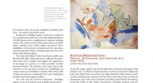 Action/Abstraction: Pollock, de Kooning, and American Art, 1940–1976