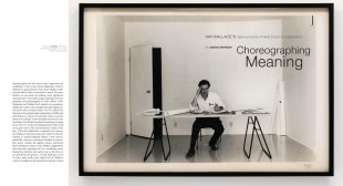 Choreographing Meaning: Ian Wallace