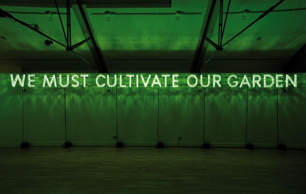 Nathan Coley Cag Show Offers Chance To Reflect On Vancouver S Problems Prospects Canadian Art