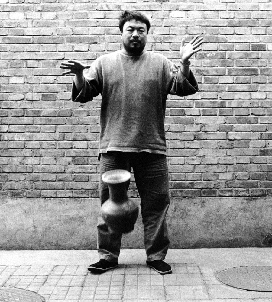 Ai weiwei at the ago for High end art galleries