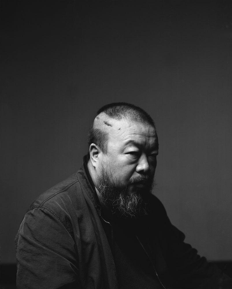 Ai weiwei at the ago gallery image floridaeventfo Image collections