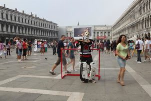 Standing on Guard for We: An Everyday Goalie in Venice