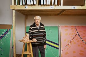 Marcel Barbeau, Painter Till the End, Dies at 90