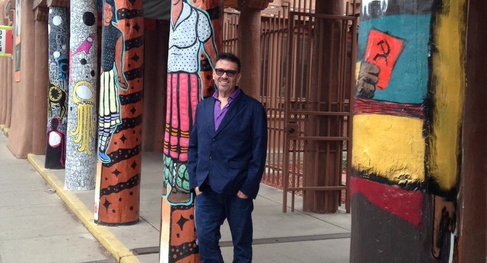 Curator Ryan Rice, new chair of the Indigenous Visual Culture program at OCAD University.