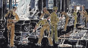 David Milne and the First World War