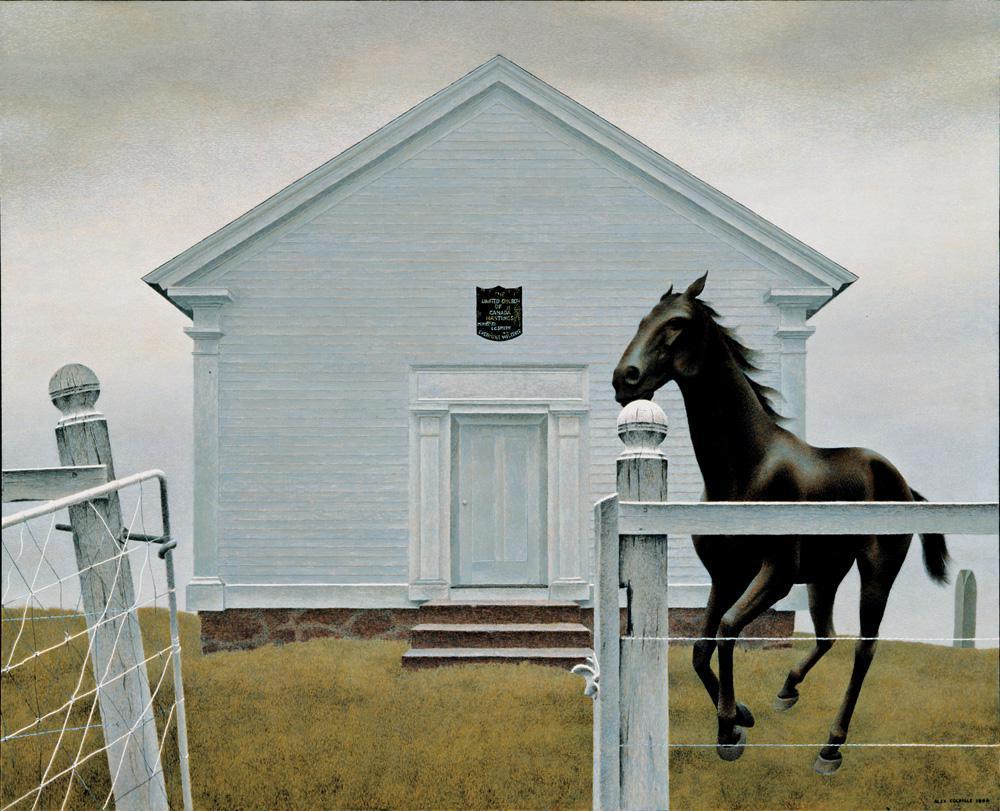 Alex Colville Paintings Images