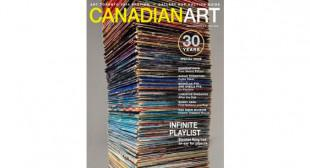 On Newsstands Now: Canadian Art's 30th Anniversary Issue