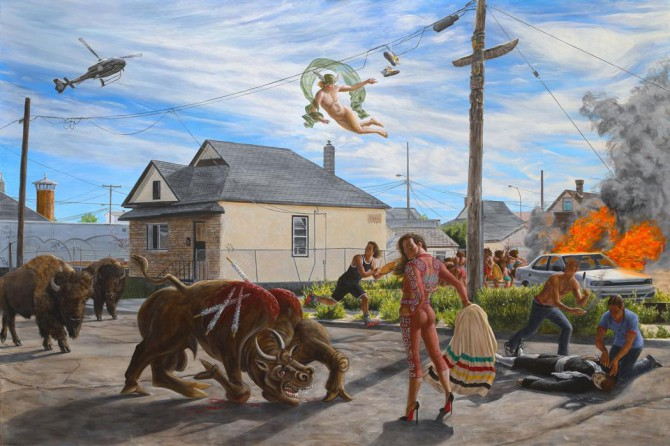 Kent Monkman: Urban Res