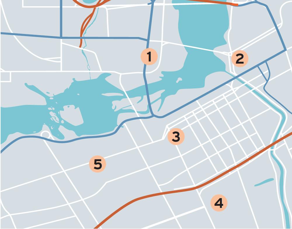 Ottawa neighbourhood map