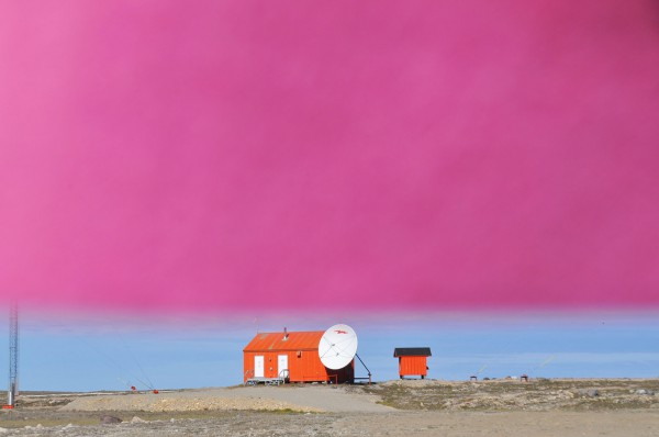 Jessica Houston, The Left Hand Points Toward Home (Private Residence, Cambridge Bay), 2015. Courtesy Art Mûr.