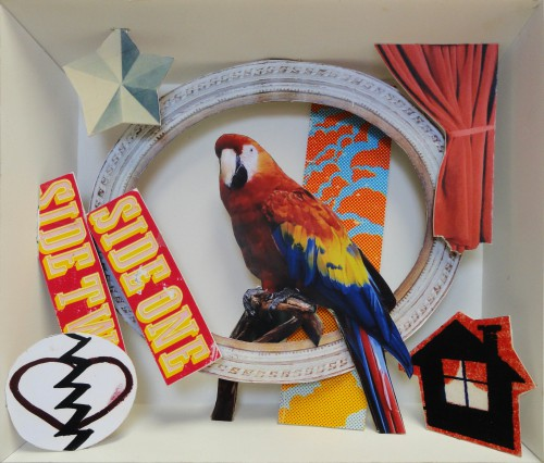 David Elliott, Study for a Music Box, 2013. Courtesy Galerie Joyce Yahouda.