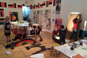 Art as Child's Play: Recent Projects with Kids in Vancouver