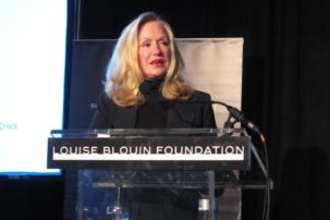 Louise Blouin Named in Panama Papers