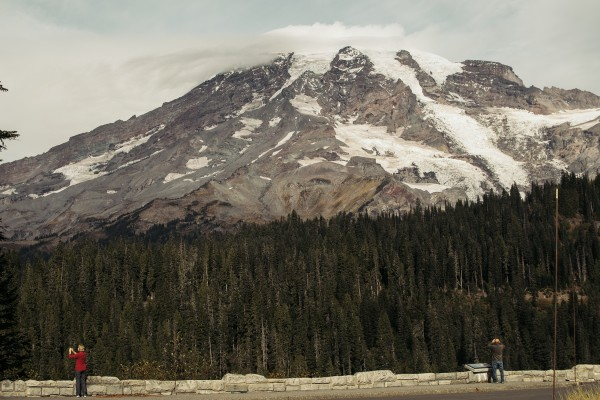 Project Pressure_Steven's Canyon Road, Mount Rainier by Peter Funch