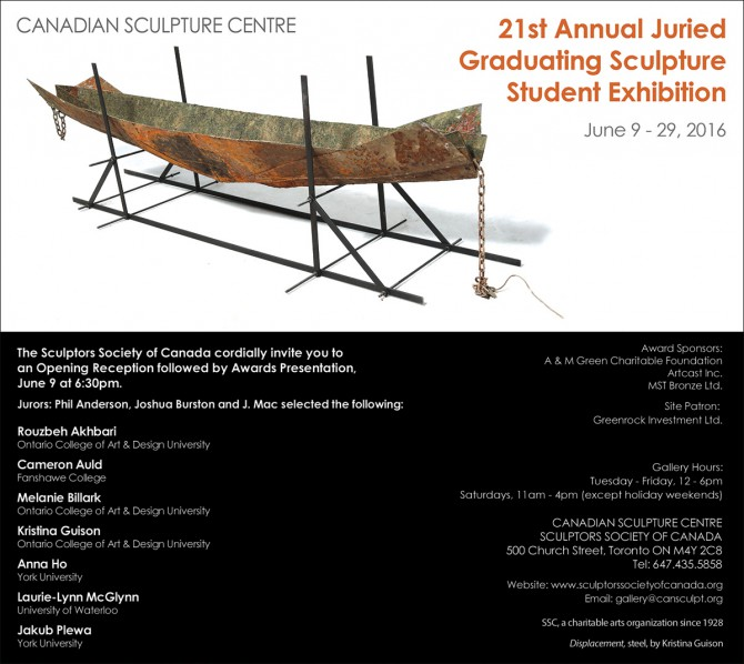 21st Annual Juried Graduating Sculpture Student Exhibition